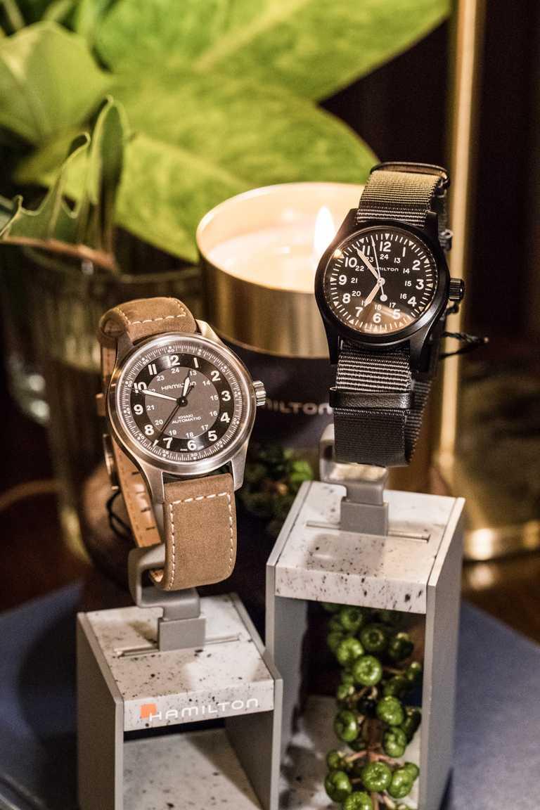 HAMILTON「Khaki Field」系列2020新款腕錶。(圖╱HAMILTON提供)