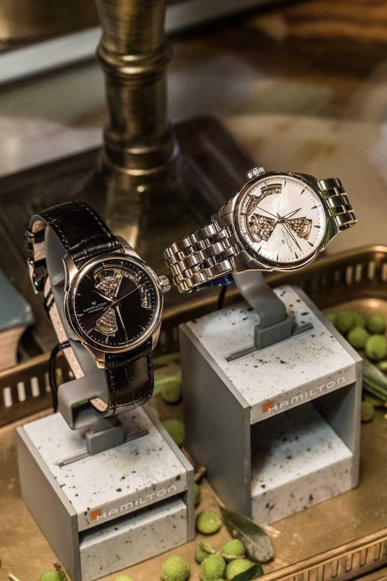 HAMILTON「Jazzmaster」系列2020新款腕錶。(圖╱HAMILTON提供)