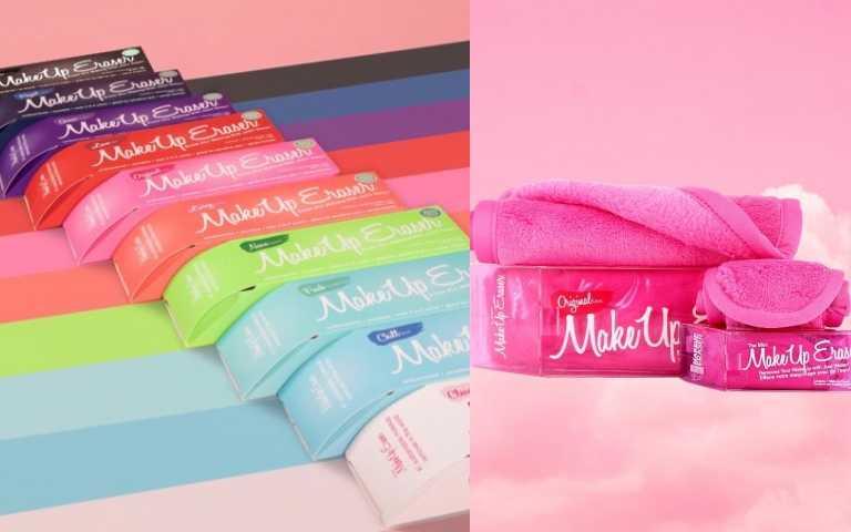 超多亮麗顏色供你選擇,也有純白色唷!每一條魔法卸妝巾可重複經 1000 次機器洗滌,一條690元,等於單次卸妝花費= $690/1000=0.69 元,每天卸妝不需一塊錢,簡單洗卸省錢又環保!(圖/品牌提供)