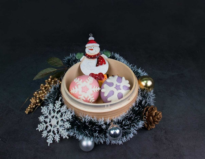 聖誕雪花包。(圖/Global Mall提供)