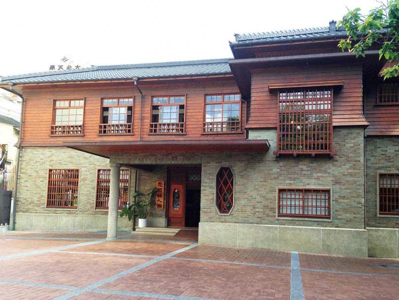 「台南愛國婦人館」外觀為日式洋風,相當特別。(圖/台南市政府文化局提供)