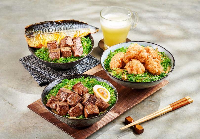 「藝奇」多達8款海陸丼飯可供選擇。