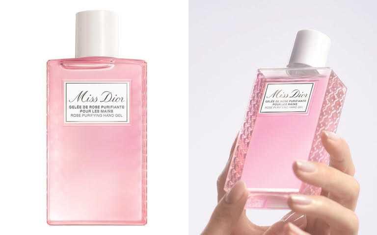 迪奧Miss Dior玫瑰乾洗手凝露100ml/1,400元 6/21起將在「DIOR線上旗艦店」、「DIOR專櫃」限量推出。(圖/品牌提供)