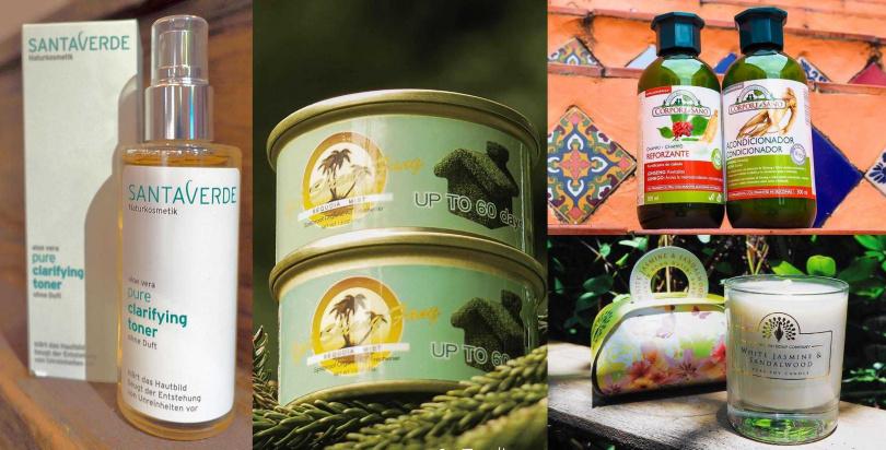 從身體清潔到臉部保養、髮絲護理,還有香氛蠟燭等,都是匯集來自世界各國的上好品牌。(圖/品牌提供)