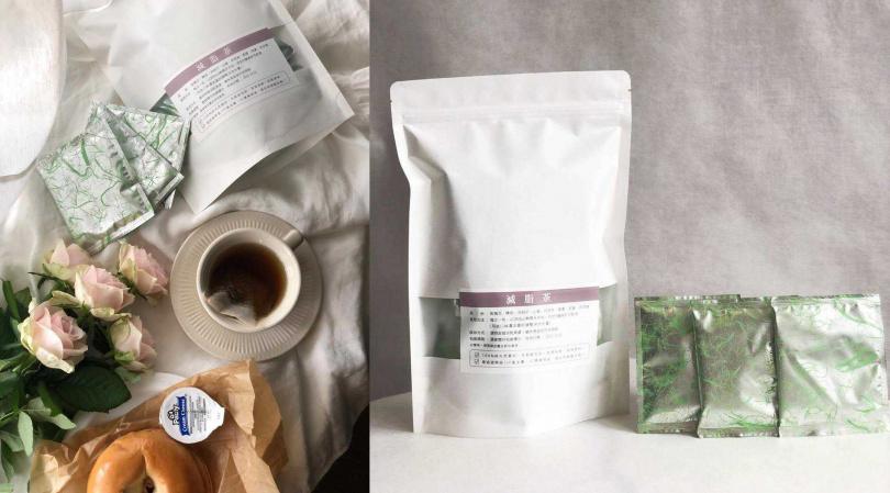 悠美中醫減脂茶20小包/2,000元 100%純天然素材。充氮氣包裝可⾼度保鮮,保留原味。(圖/品牌提供)