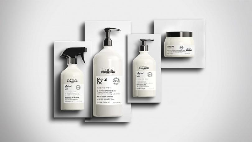 萊雅專業 絲漾博吸金喚彩系列店用療程4步驟(圖/萊雅專業髮品提供)