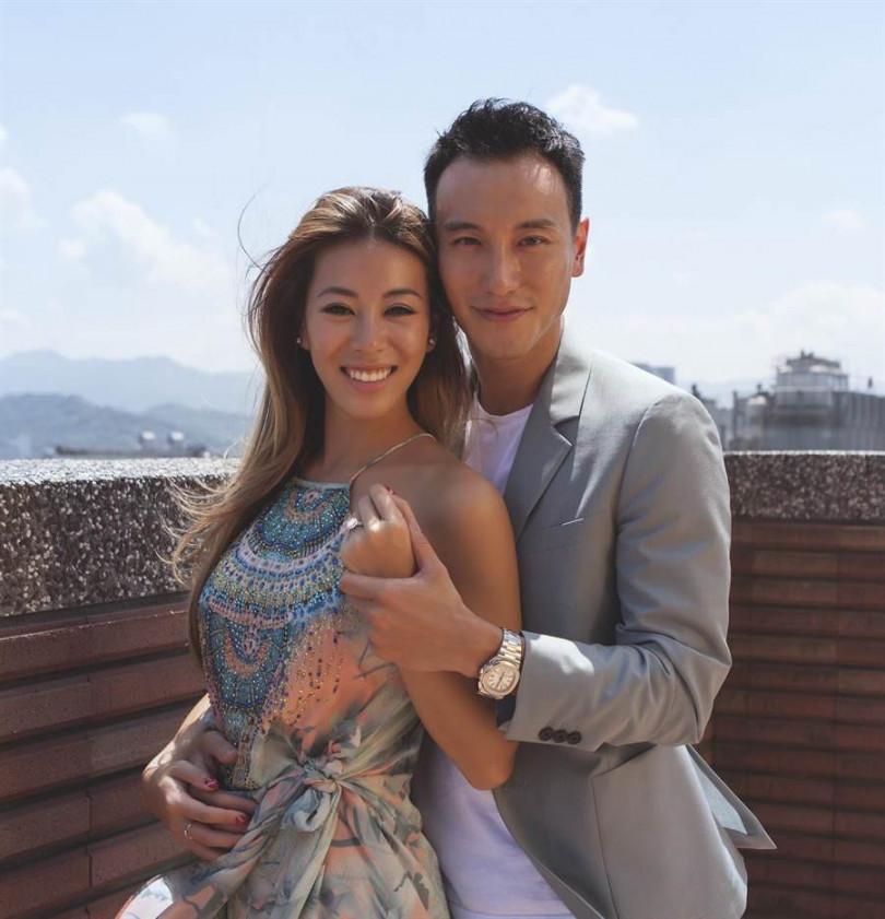 王陽明與蔡詩芸結婚4年傳出做人成功。(圖/翻攝自王陽明臉書)