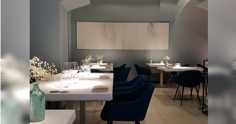 義大利米其林一星餐廳Quintessenza。(圖/台北文華東方酒店提供)