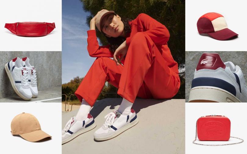 一系列休閒單品打造不同於以往的輕鬆時尚。(圖/LACOSTE)
