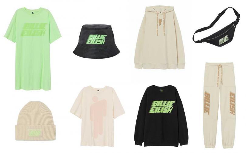 所有服裝均採用永續性更高的材料製成,讓此系列更具意義。(圖/H&M)