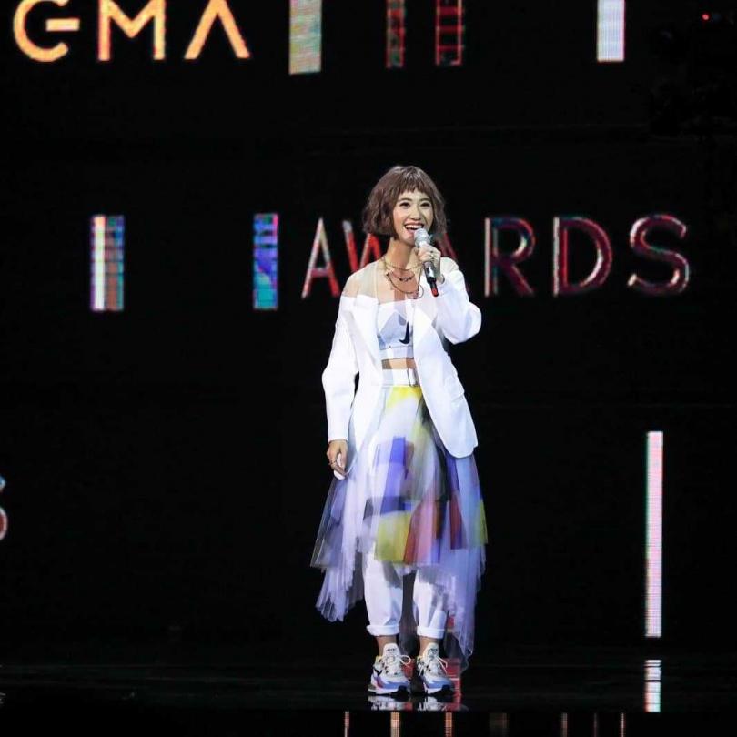 Lulu接連主持4屆金曲獎頒獎典禮,據悉今年也將連莊主持。(圖/翻攝自金曲獎IG)