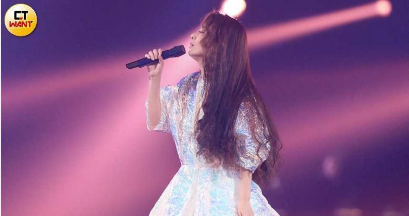 剛結束4場小巨蛋個唱的華語樂壇天后Hebe,也將在金曲帶來精彩演出。(圖/彭子桓攝)