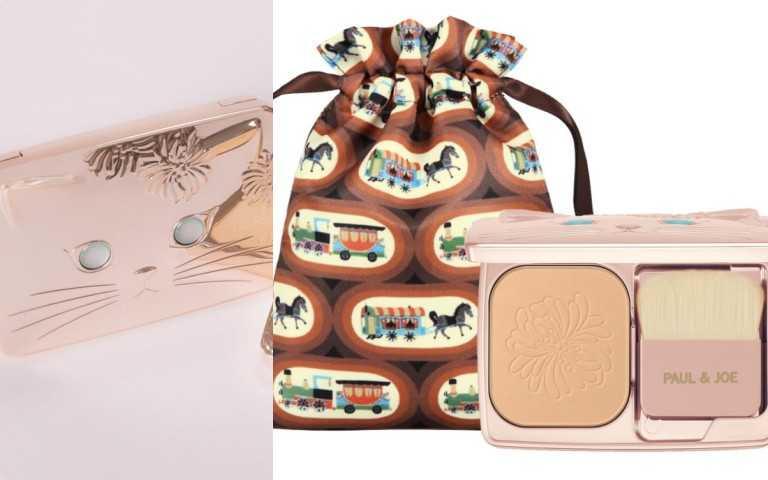 買就送可愛馬車粉餅束口袋,可拿來裝著粉餅或其他用途!(圖/ 品牌提供)