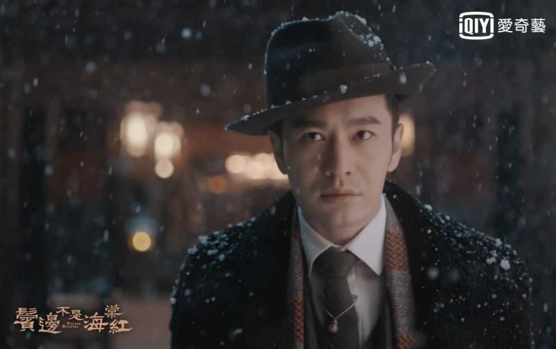 黃曉明飾演癡迷京劇、俊逸倜儻的商人。