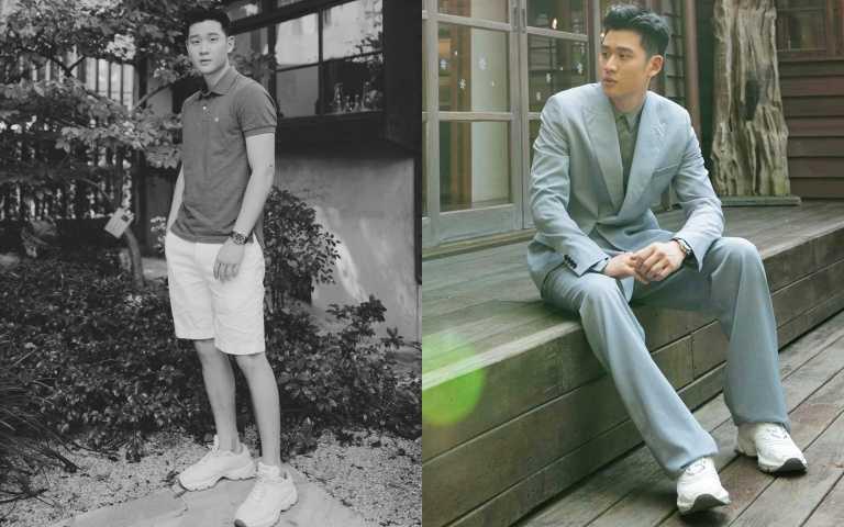 周興哲在自己的IG上PO出最新DIOR CD1運動鞋/36.000元(圖/周興哲IG)