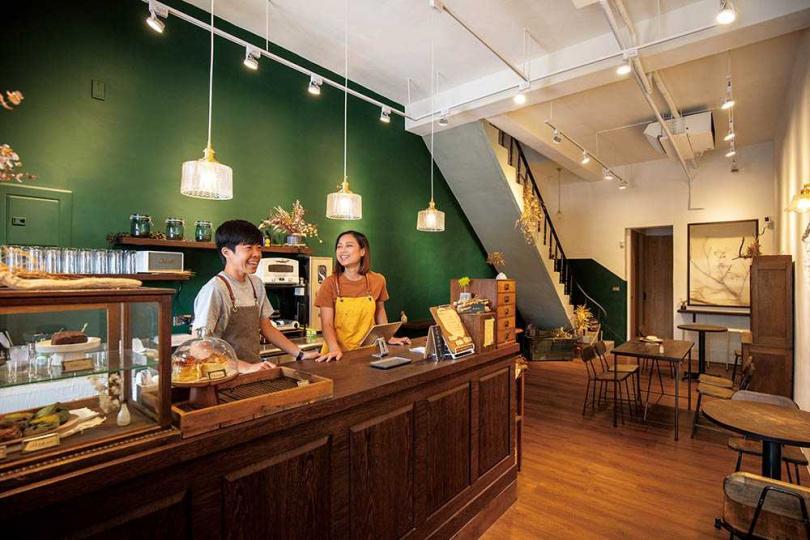 由兩位年輕老闆開設的質感小店「THAI HOJA」,深受年輕族群歡迎。(圖/宋岱融攝)