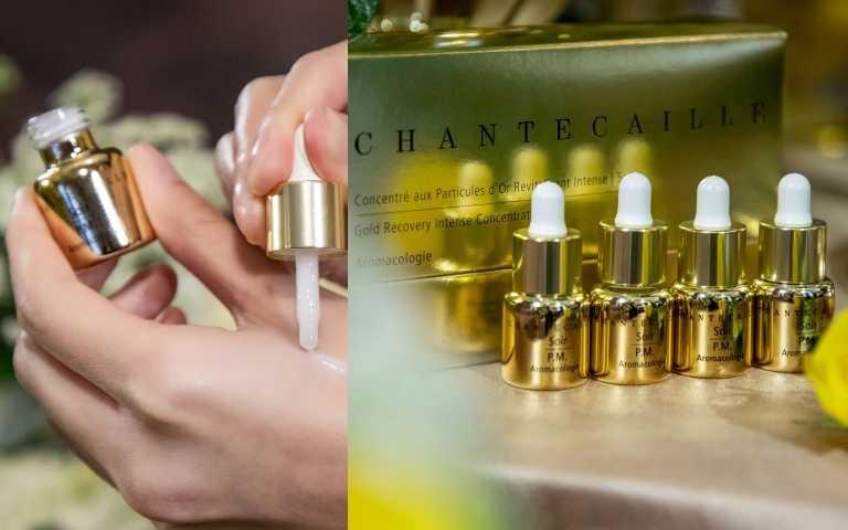 CHANTECAILLE極緻純金賦活安瓶4入x6g/12,220元(圖/品牌提供)