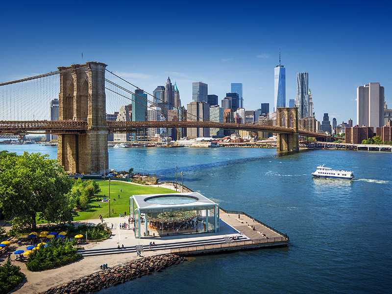 易遊網除了訂票外,也有提供機加酒商品供民眾選擇。圖為美國紐約。(圖/易遊網)