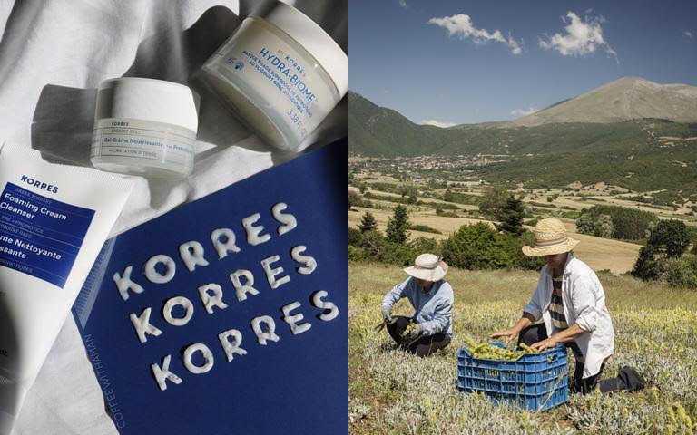 集結希臘完整的自然資源搭配現代科技技術成就了KOREES細膩的工藝。(圖/品牌提供)