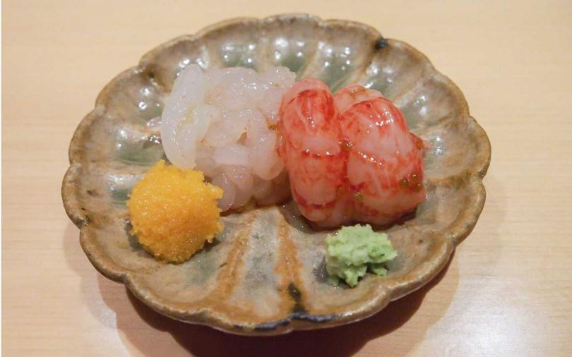 平成壽司以高檔漁獲入菜。(圖/台北西華飯店提供)