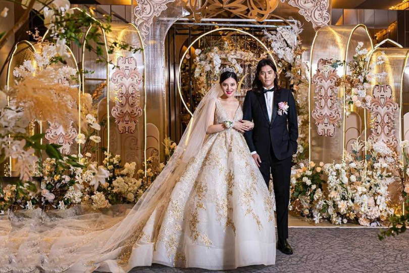B2去年結婚。(圖/翻攝自B2 IG)