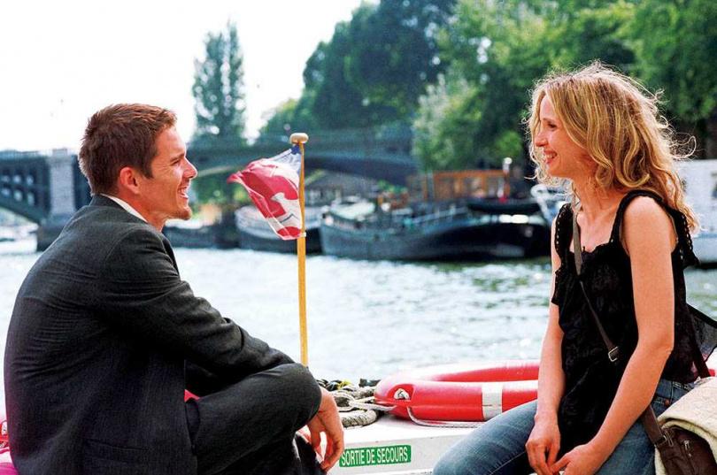 在《愛在黎明破曉時》問世9年後,導演再推出《愛在日落巴黎時》。(圖/華納兄弟提供)