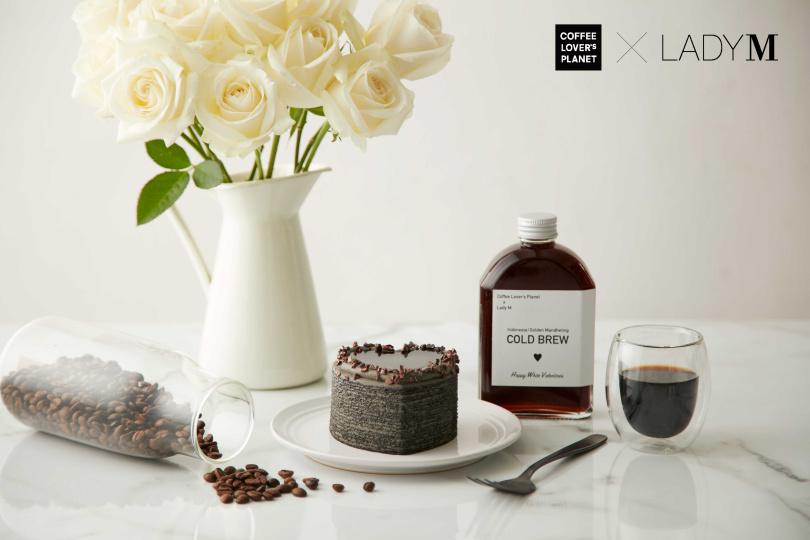 Lady M與日本UCC集團旗下精品咖啡--COFFEE LOVER's PLANET聯名,推出限定組合。