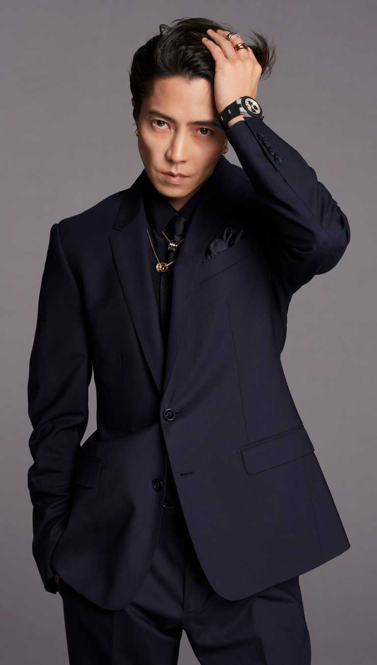 跨足影視與音樂界的日本演員兼歌手山下智久,受邀擔任寶格麗最新品牌大使。(圖╱BVLGARI提供)