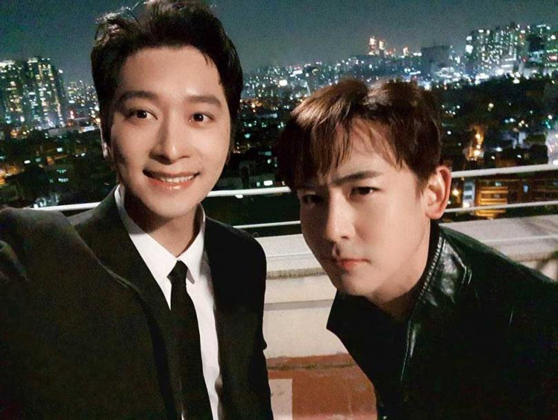 燦盛和尼坤為挺好兄弟演出劇中劇,雖然三人未能同框,但仍讓粉絲驚喜不已。(圖/翻攝自2PM IG)