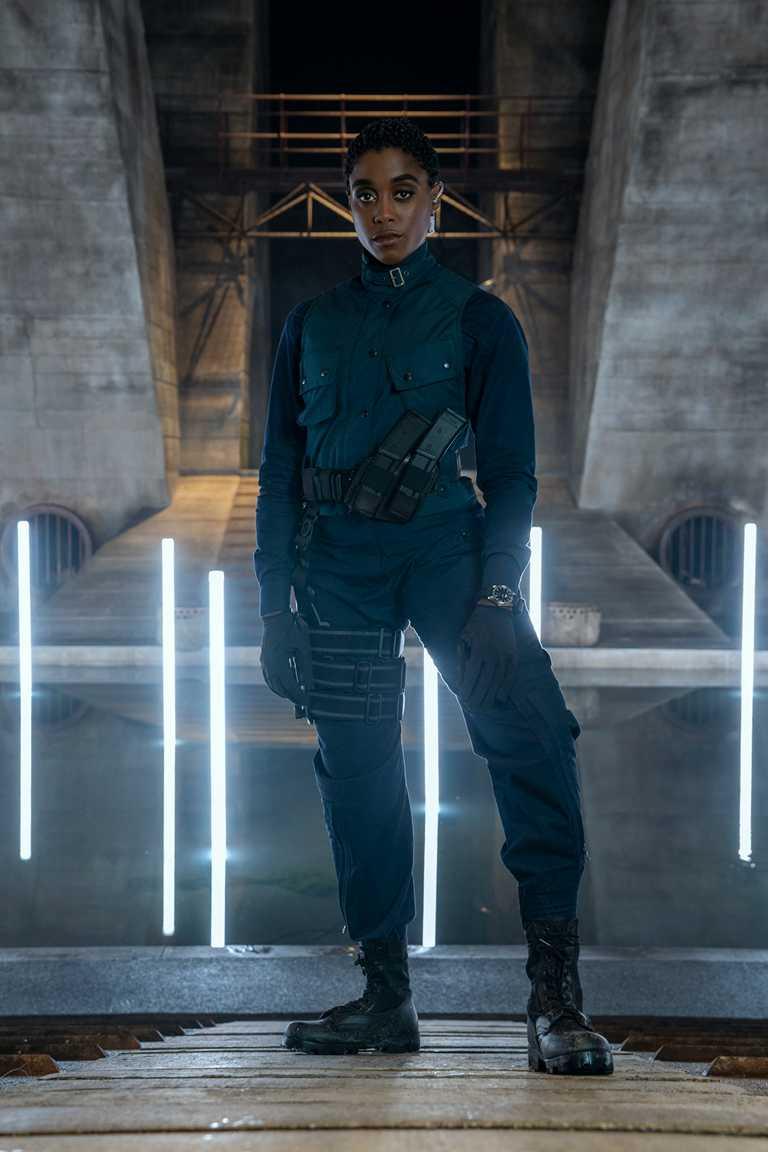 由拉莎娜林奇(Lashana Lynch)飾演的新任代號密探Nomi,聰明、幽默且勇敢,為龐德故事增添感性元素。(圖╱OMEGA提供)
