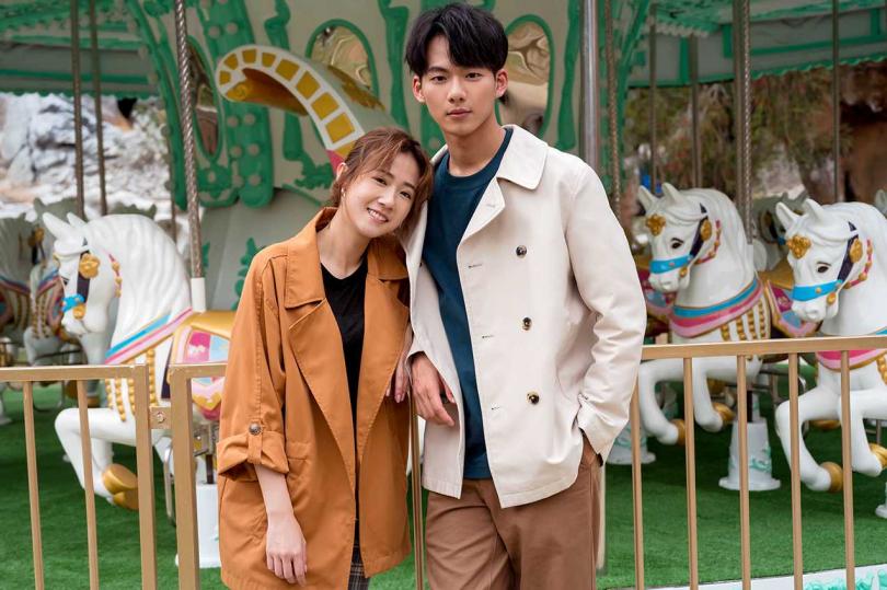 方志友、吳念軒在新戲中大談姊弟戀。(TVBS提供)
