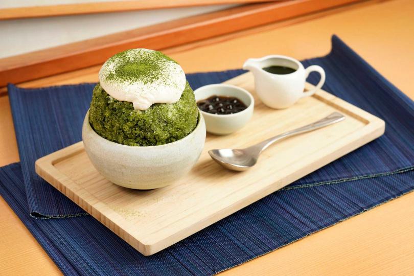 納涼祭-宇治抹茶冰。(圖/日勝生加賀屋提供)