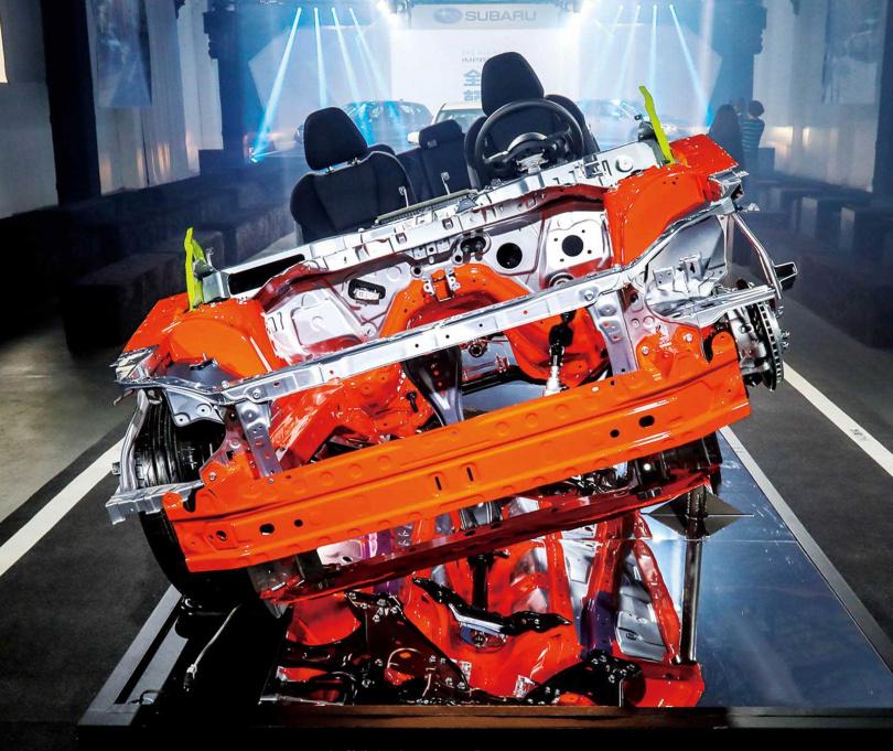 Impreza是SUBARU旗下,首先採用SGP模組化底盤的車款。(圖/業者提供)