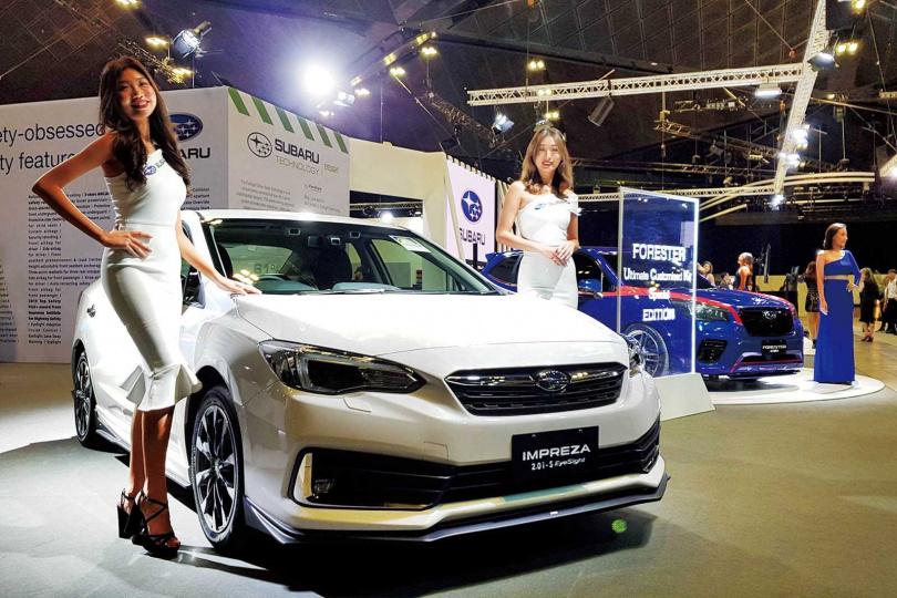 小改款的Impreza在今年初的新加坡車展首次曝光,不過2.0i版本台灣尚未引進。(圖/報系資料庫)
