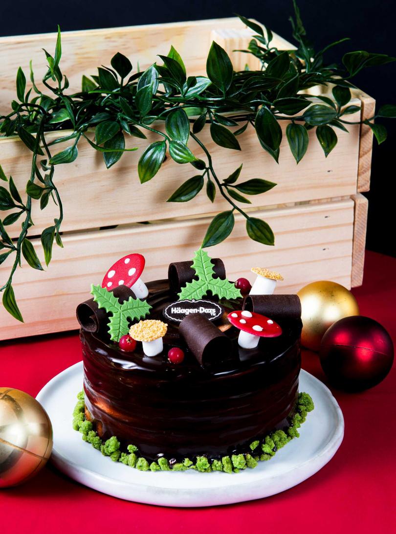 「黑巧森林」以童趣吸睛的聖誕設計,打造濃濃節慶氛圍,