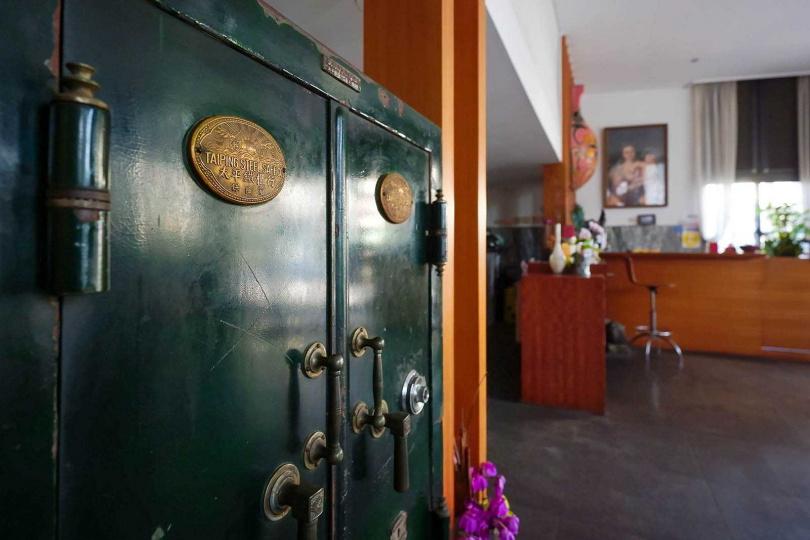 因銀行轉賣而回歸的舊金庫,具有歷史意義。(圖/焦正德攝)