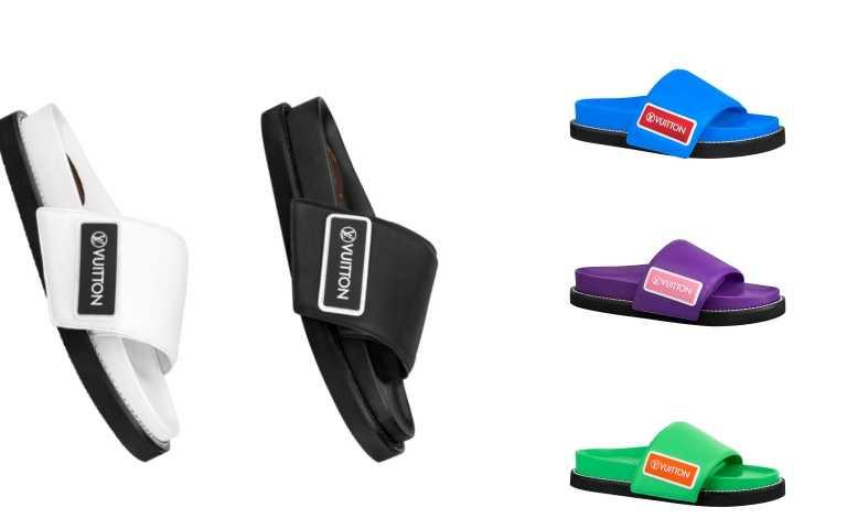 LV SUNSET拖鞋/29,400元(有5色選擇)(圖/品牌提供)