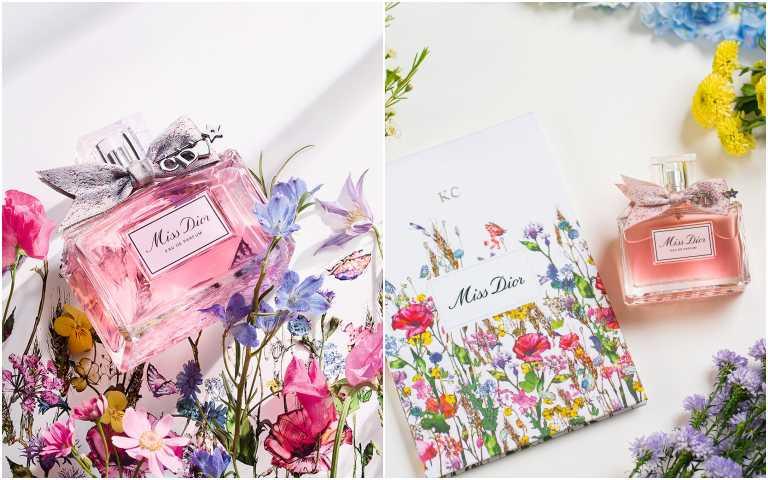 Miss Dior 香氛 30ml/3000元;50ml/4360元;100ml/6270元(圖/黃筱婷攝影)