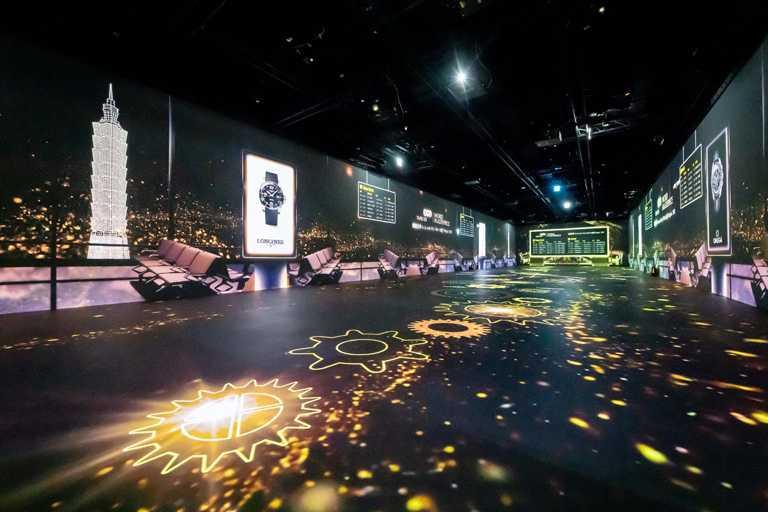 台北101「Ambi Space One双融域」,全新沉浸式展演體驗場域,採用高規格的全五面投影技術。(圖╱台北101提供)