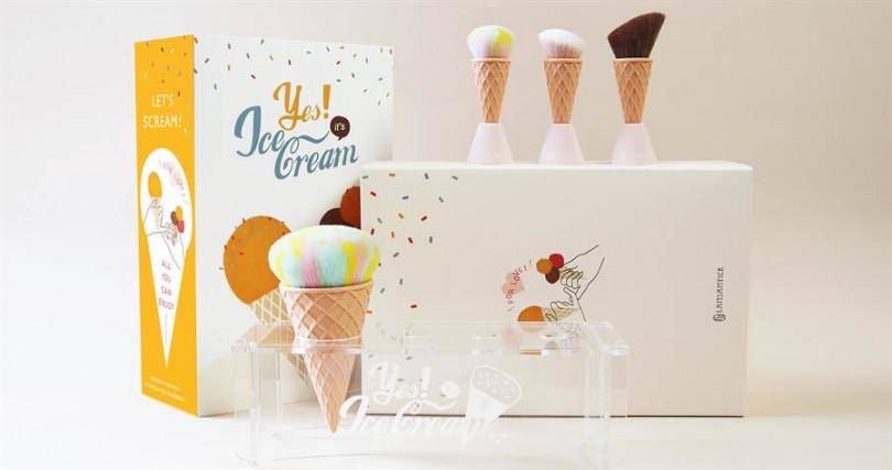 LSY林三益YES!It's Ice Cream冰淇淋刷系列組合/1,850元(圖/品牌提供)