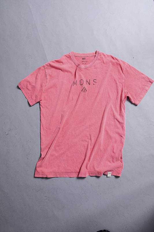 晨翔各種色系T-Shirt都有,看心情換穿。(圖/莊立人攝)