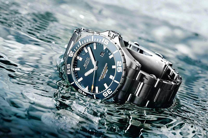 MIDOOcean Star錶殼:不鏽鋼材質/錶徑43.5mm機芯:Caliber 80 Si自動上鍊/振頻每小時21,600次/儲能80小時/天文台認證功能:大三針/日期防水:600米定價:54,800元