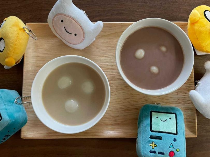 奶茶(可可) 湯圓。(圖/清心福全提供)