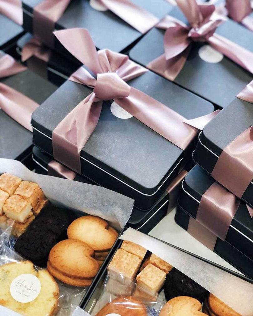 利用手作培養出耐心的王宣,連姪子的彌月禮盒設計都親手包辦。(圖/戴世平攝)