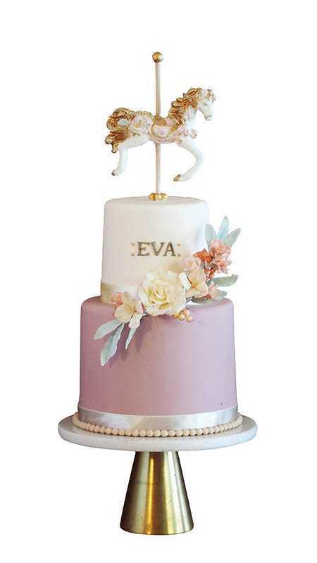 現點現做的「獨角獸花園蛋糕」,須等待3小時製作。(8,000元)(圖/就是要玩蛋糕Cake Play)