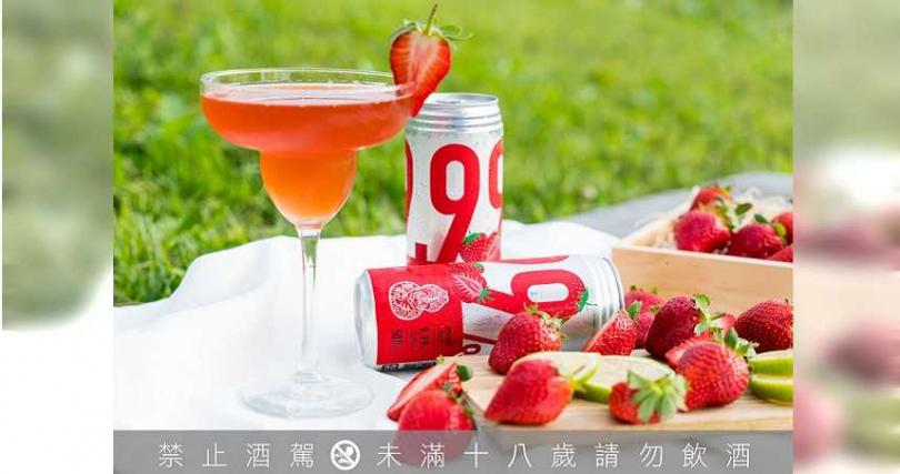 臺虎全新力作「美莓大顆粒」 每罐建議售價99元。(圖/臺虎精釀提供)