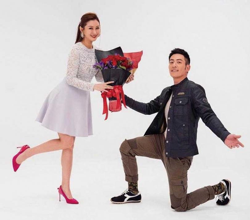 最近趙駿亞和陳珮騏在新戲《姊妹們追吧》搭檔演夫妻,戲外卸下演員身分的他則是「台灣兩棲爬蟲動物協會」會長。(圖/海納百川娛樂提供)