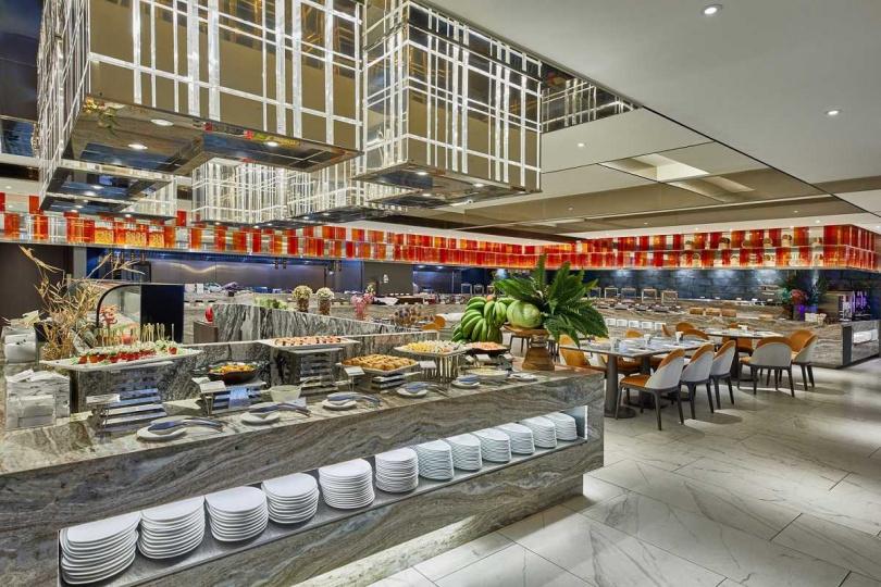 圖說:位於板橋的星級飯店直接將振興券放大六倍價值。(圖/板橋凱撒大飯店)