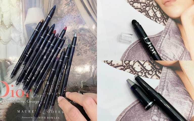 迪奧搶眼造型眼線筆 共12色 0.2g/950元。(圖/吳雅鈴攝)
