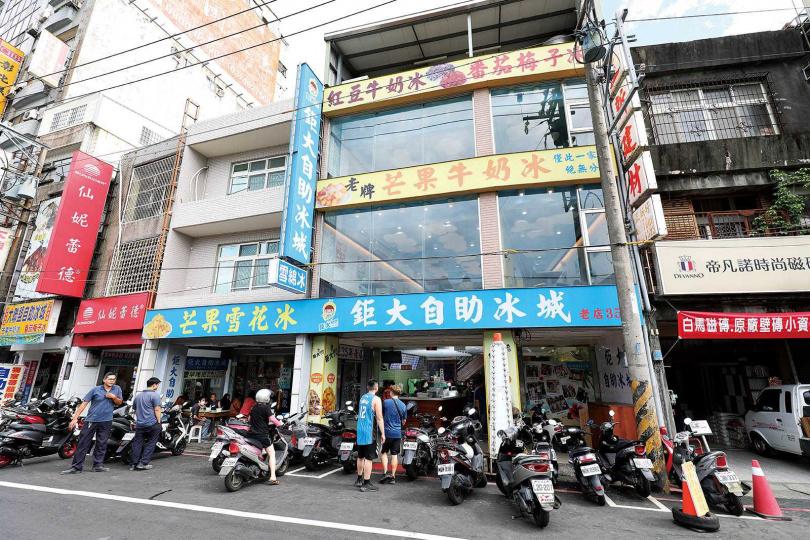 店家目前已經擴展到3間店面,內部用餐區域更大了。(圖/于魯光攝)